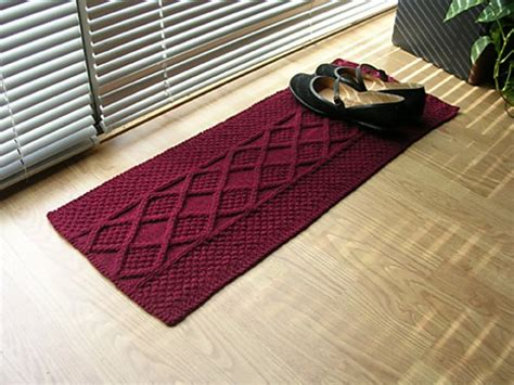 knitting rugs free patterns free patterns 10 easy to make knit and crochet