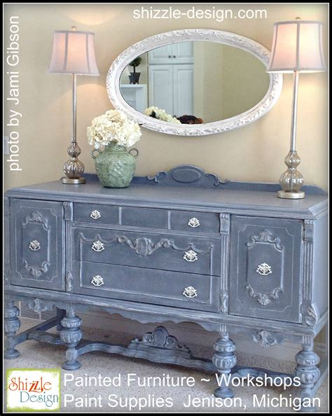 painted furniture ideas black lacquer buffet gets a whole new look with tarnished