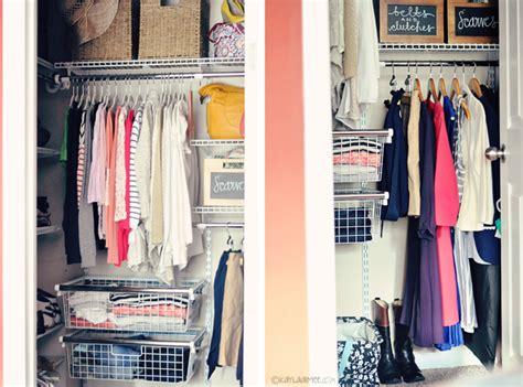 minimalist wardrobe makeover closet before after