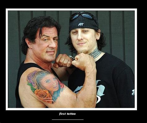 does sylvester stallone have tattoos sylvester stallone tatto by marta01 on deviantart