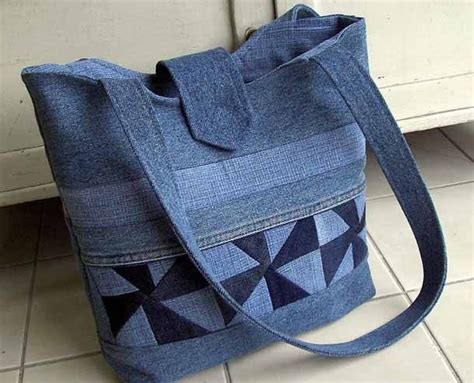 Denim Patchwork Bag Patterns Free - best 25 denim bag patterns ideas on jean bag