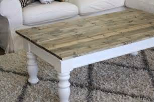 Farmhouse Coffee Table Nifty Thrifty Momma Farmhouse Style Coffee Table