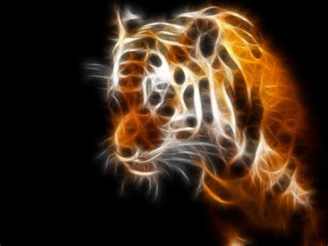 Kaos 3d Tiger Neon neon tiger other animals background wallpapers on desktop nexus image 152466