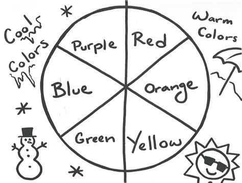 Color Wheel Worksheet by Color Wheel Worksheet Kiedaisch