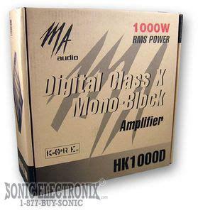 Monoblock Ma ma audio hk1000d digital class d monoblock lifier