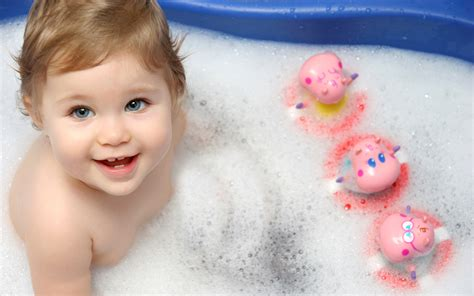 kid bathtub cute baby bath wallpapers hd wallpapers