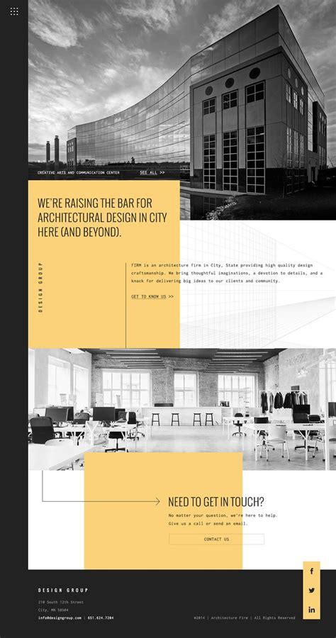 architectural design websites architecture website design