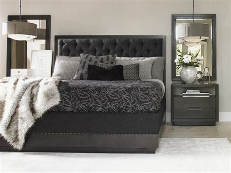 bedroom bedding carrera maranello upholstered bed lexington home brands