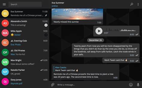 themes new pc telegram finally graduates its desktop version to v1 0