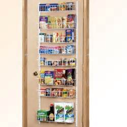 pantry door rack organization storage closets