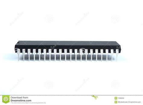 integrated circuit leg number black integrated circuit stock photography image 7266202