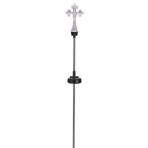 solar light cross for 24 units of yard stake solar light cross at
