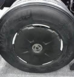 Semi Truck Wheels Covers Snap On Aero Wheel Covers Fuel Economy Hypermiling