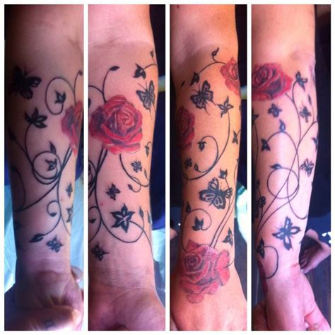 tattoo flower on forearm 23 forearm sleeve tattoo designs ideas design trends