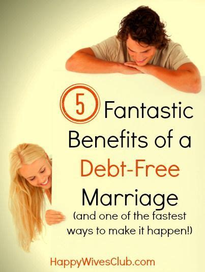 8 Benefits Of Being Married by 5 Fantastic Benefits Of A Debt Free Marriage
