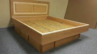 wasserbett gestell cherry and maple waterbed custom by chris davis