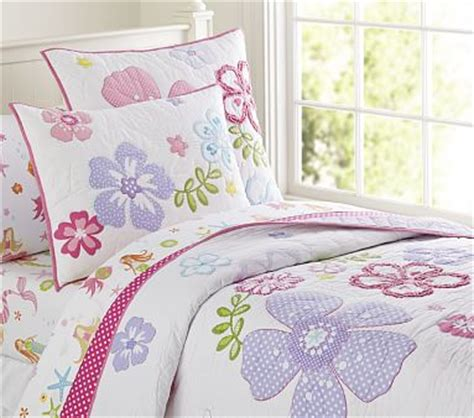 Hibiscus Crib Bedding Hibiscus Quilted Bedding Pottery Barn