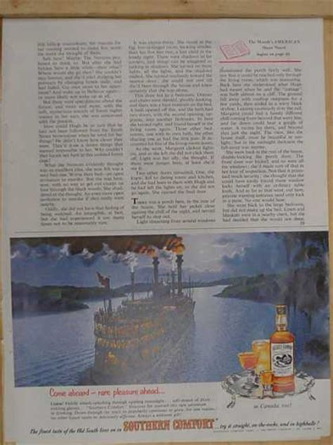 Southern Comfort Theme by Vintage Ads Of The 1950s Page 36