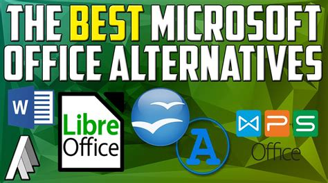 Alternatives To Microsoft Office best alternatives to microsoft office suite 2017 edition