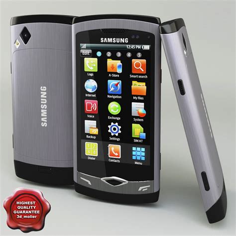 themes samsung wave gt s8500 samsung s8500 wave 3d model