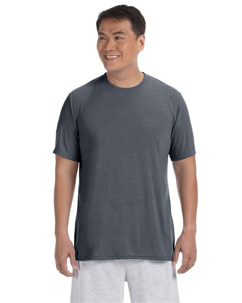 Saphire Prio Shirt X S M L gildan performance 100 polyester 4 5 oz sleeve t