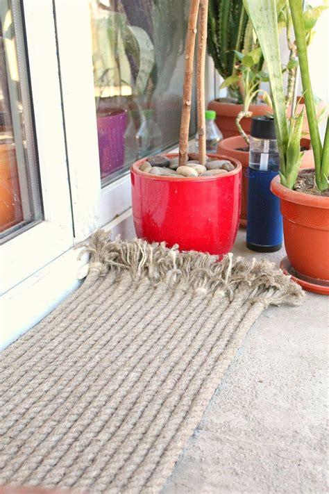 diy outdoor rug  rope diyideacentercom