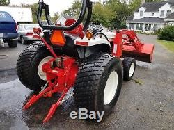 New Holland Boomer 8n Withloader 190 Hrs 2 Sets Of Wheels