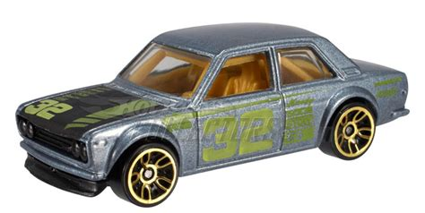 hotwheels datsun 510 wheels datsun 510 bluebird in metallic gray japanese