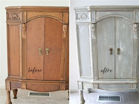 how to chalk paint cabinets inspirations chalk paint cabinet makeover