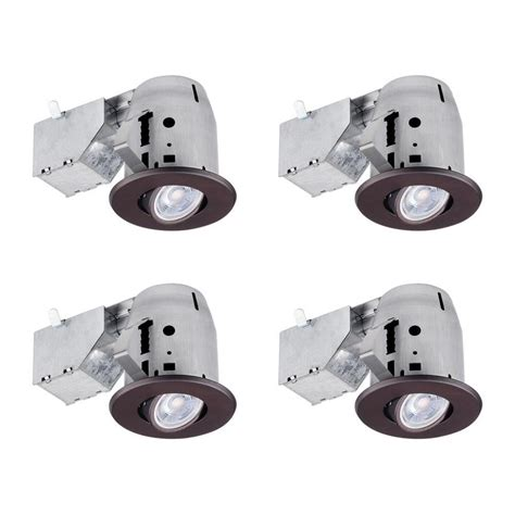 globe electric recessed lighting installation shop globe electric oil rubbed bronze remodel and new