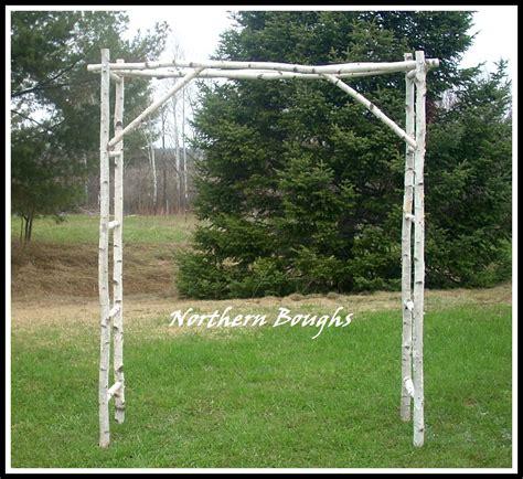 Birch Wedding Arch Kit by White Birch Wedding Arch Kit 183 Northern Boughs 183