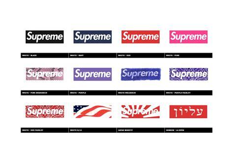 supreme box logo kopbox celebrates 20 years of the supreme box logo hypebeast