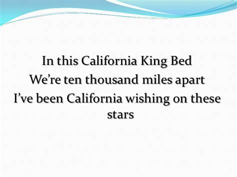 bed lyrics rihanna california king bed lyrics