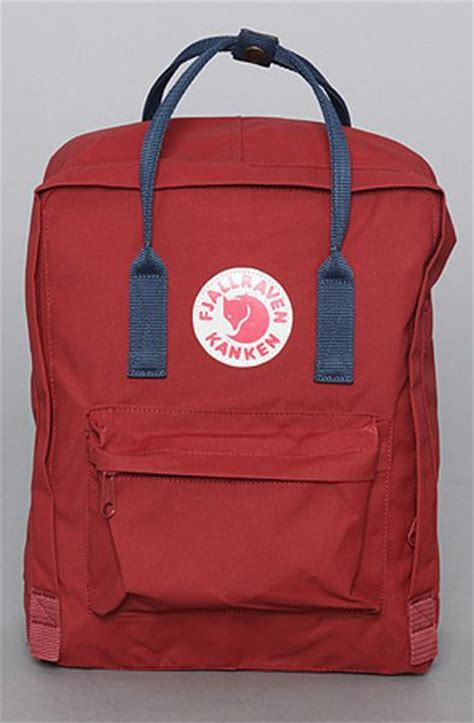 Fjallraven Kanken Classic Oxred Royal Blue Backpack Tas fjallraven the kanken backpack in ox royal blue in for lyst