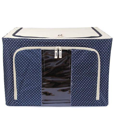 3 In 1 Cloth Organizer 1 Set Isi 3 Pcs Ukuran Berbeda uberlyfe foldable cloth storage box with steel frames large blue 66l buy uberlyfe foldable