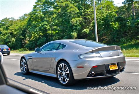 Aston Martin New York by Aston Martin Vantage Spotted In Island New York On