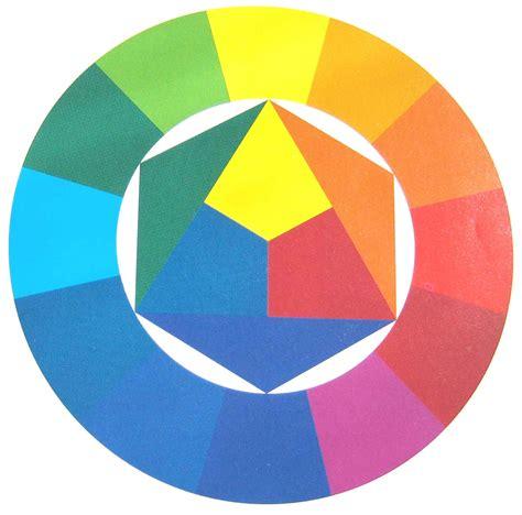 color con i colores primarios el color en la pintura