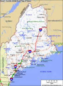 Map Of The State Of Maine by Images Of State Of Maine