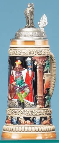 steins artificial trees multicolor gambrinus stein authentic steins from germany 1001beersteins