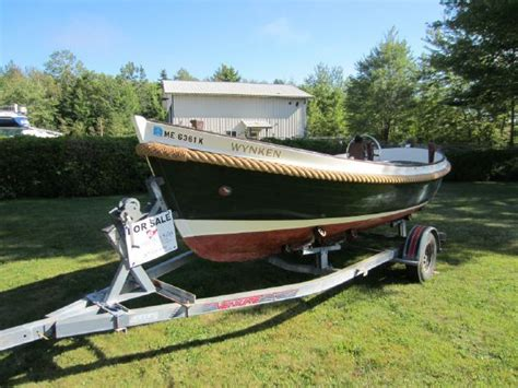 boat launch for sale 1989 van wijk double ended launch 21 power boat for sale