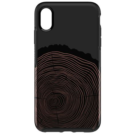 otterbox symmetry series for iphone xs max wood you rather walmart
