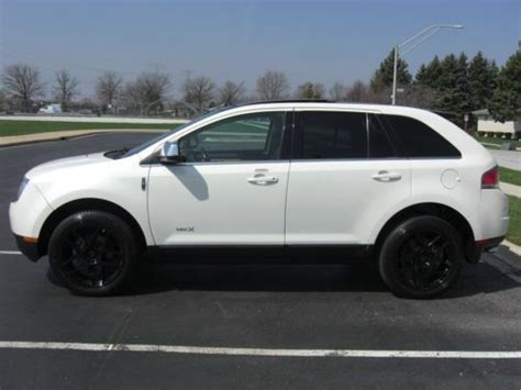 electric and cars manual 2008 lincoln mkx navigation system sell used 2008 lincoln mkx navigation in orland park illinois united states for us 14 495 00