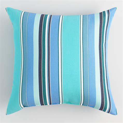 world market pillows sale sunbrella oasis dolce stripe outdoor throw pillow world