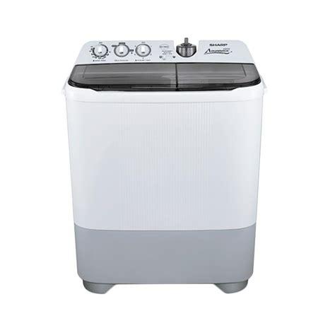 Mesin Cuci Sharp Kapasitas 9 Kg jual sharp es t96cl hk mesin cuci harga kualitas terjamin blibli