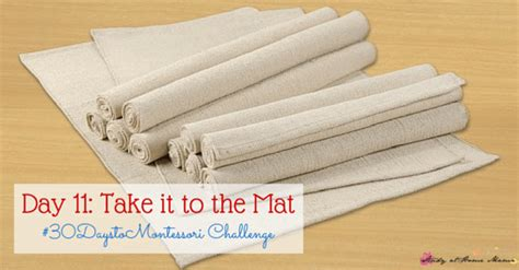Take It To The Mat by Montessori Work Rugs Roselawnlutheran