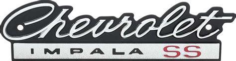 impala logo 1966 impala parts emblems and decals exterior emblems