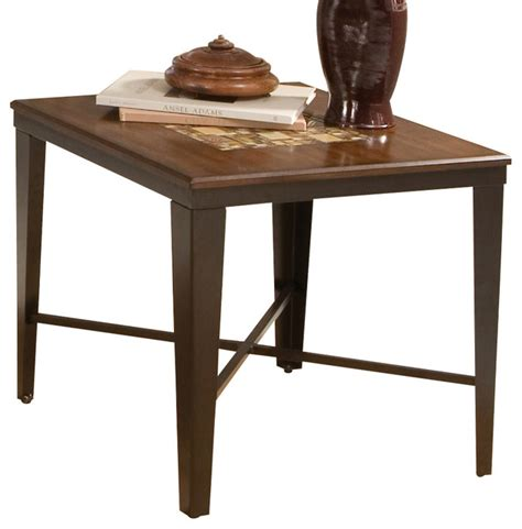 24 inch end table steve silver emeril 24 inch square end table