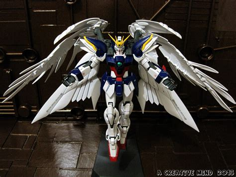 gundam wing the gallery for gt gundam wing zero model
