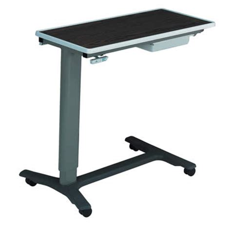 standard hospital overbed table