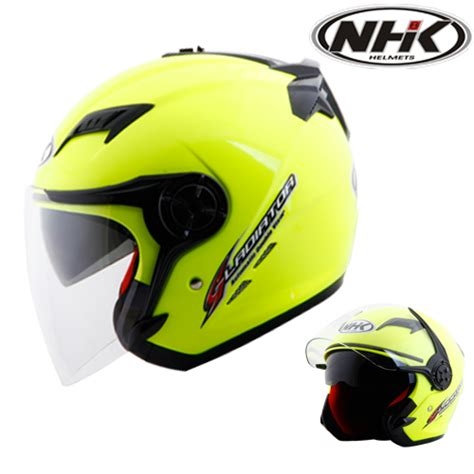 Helm Nhk Kuning Harga Special Edition Helm Nhk Gladiator Solid Yellow